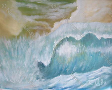 Stylized wave (2001)