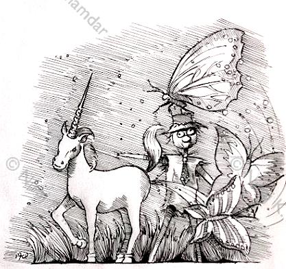 Fantasy illustration (2014)