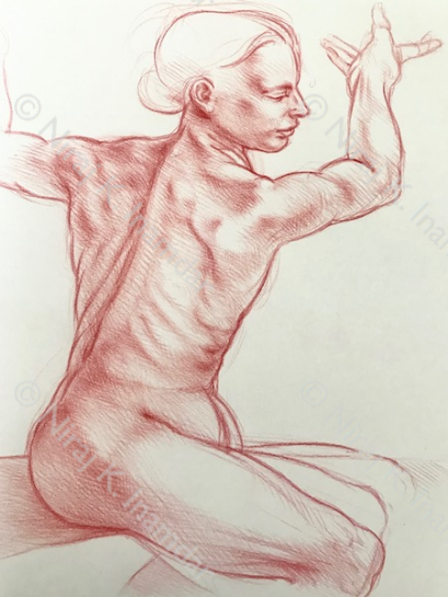 Sibilla in stile di Michelangelo (2018)
