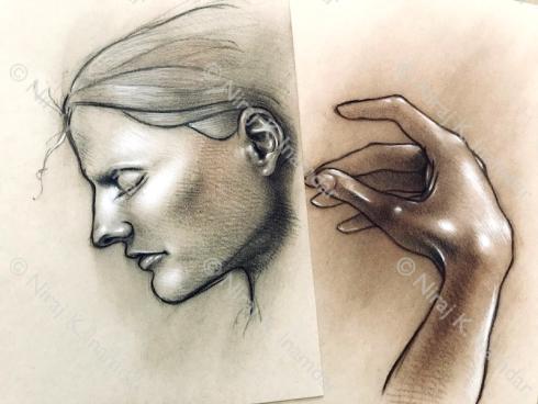 Profile e mano (2018)